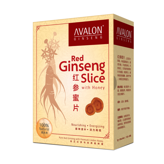 Picture of AVALON Red Ginseng Slice with Honey