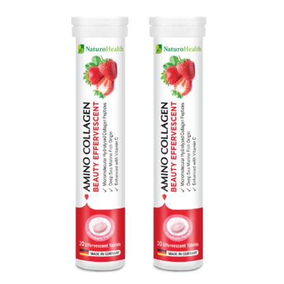 Collagen Tablet | NaturoHealth Amino Collagen Beauty Effervescent